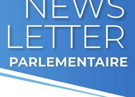 NEWSLETTER PARLEMENTAIRE